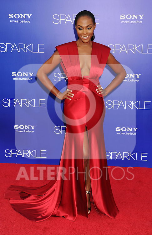 HOLLYWOOD, CA - AUGUST 16: Tika Sumpter arrives for the Los Angeles premiere of 'Sparkle' at Grauman's Chinese Theatre on August 16, 2012 in Hollywood, California. /NOrtePHOTO.COM.... **CREDITO*OBLIGATORIO** *No*Venta*A*Terceros*..*No*Sale*So*third* ***No*Se*Permite*Hacer Archivo***No*Sale*So*third*