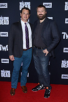 """LOS ANGELES - SEP 23:  Dave Alpert, Robert Kirkman at the """"The Walking Dead"""" Season 10 Premiere Event at the TCL Chinese Theater on September 23, 2019 in Los Angeles, CA"""