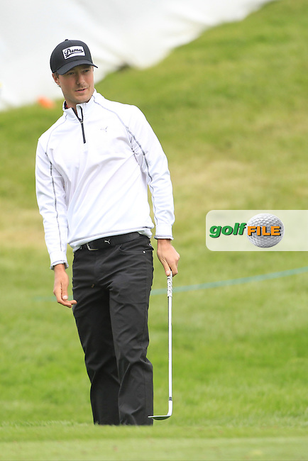 Jens Fahbring (SWE) during Thursday's Round 1 ahead of the 2016 Dubai Duty Free Irish Open Hosted by The Rory Foundation which is played at the K Club Golf Resort, Straffan, Co. Kildare, Ireland. 19/05/2016. Picture Golffile | TJ Caffrey.<br /> <br /> All photo usage must display a mandatory copyright credit as: &copy; Golffile | TJ Caffrey.