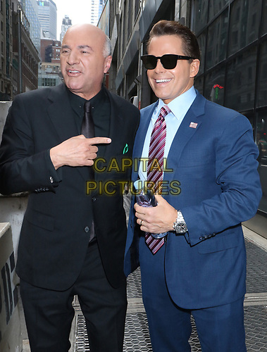 NEW YORK, NY - July 03: Kevin O'Leary and Anthony Scaramucci on the set of MSNBC's Squawk Box at Nasdaq in New York City on July 03, 2019. <br /> CAP/MPI/RW<br /> ©RW/MPI/Capital Pictures