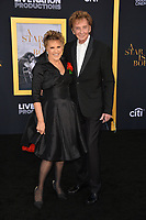 "LOS ANGELES, CA. September 24, 2018: Lorna Luft & Barry Manilow at the Los Angeles premiere for ""A Star Is Born"" at the Shrine Auditorium.<br /> Picture: Paul Smith/Featureflash"
