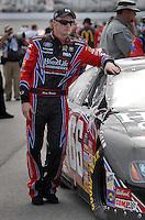 May 4, 2007; Richmond, VA, USA; Nascar Busch Series driver Steve Wallace (66) during qualifying for the Circuit City 250 at Richmond International Raceway. Mandatory Credit: Mark J. Rebilas..