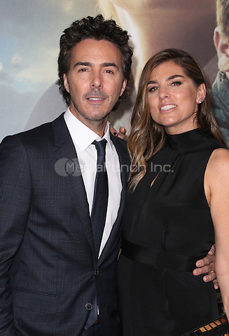 """Westwood, CA - NOVEMBER 06: Shawn Levy, Serena Levy at Premiere Of Paramount Pictures' """"Arrival"""" At Regency Village Theatre, California on November 06, 2016. Credit: Faye Sadou/MediaPunch"""
