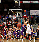 USD vs WIU 2014 Women's Summit League Basketball Championships