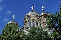 orthodoxe Nikolaus-Kirche (1904)  in Liepaja-Karosta, Lettland, Europa
