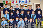 LEARNING: The new junior infants class of Kilcummin NS hard at work in school on Tuesday, front l-r: Kirill Healy, Colin O'Leary, Andrew Lohan, Luke Pomeranz, Paul Foran and Dylan Delaney. Middle l-r: Klaudia Sznerys, Edwina Cahill, Sarah Riordan, Niamh Horgan, Aoibhe O'Donnell, Tess O'Brien and Ca?itlin Doolan. Back l-r: Dovydas Leonavicius, Turlough O'Connor, Liam Randles, Darragh Fleming, Cian Foley, Dara O'Callaghan and Caoimhe Fogarty.   Copyright Kerry's Eye 2008