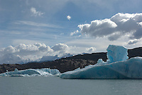 Between 5km and 7km wide, with a 60-metre high snout and a length of 60km, the Upsala Glacier in Argentina is still South America's longest glacier despite massive retrocession in the last decade. It debouches into Lago Argentino and icebergs that have fallen off the glacier litter this end of the lake, many of them weird shapes and an almost unbelievable neon blue.