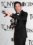 Steve Kazee pictured at the 66th Annual Tony Awards held at The Beacon Theatre in New York City , New York on June 10, 2012. © Walter McBride /  WM Photography .