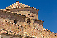 Europe, Espagne, Province de Saragosse, Aragon, Env de Tauste: Sanctuaire de Sancho Abarca // Europe,Aragon, Spain, Province of Zaragoza, Aragon, Spain,  near Tauste: Church  Nuestra Señora de Sancho Abarca