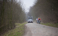 Paris-Roubaix 2013 RECON..AG2R-LaMondiale recon..