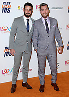 BEVERLY HILLS, CA - APRIL 20:   Scott Rogowsky and Lance Bass at the Race to Erase MS 25th Anniversary Gala at the Beverly Hilton on April 20, 2018 in Beverly Hills, California. (Photo by Scott KirklandPictureGroup)