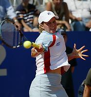 Roma 17 Maggio 2002<br /> Tennis Master Roma<br /> Sanex Wta Tour<br /> Quarti di Finale<br /> Kim Clijster <br /> Roma Tennis Internazionali d'Italia 2002<br /> Foto Andrea Staccioli/Insidefoto