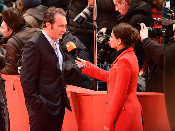 Jean Dujardin attending the &quot;The Monuments Men&quot; Premiere at at the 64th Annual Berlinale International Film Festival at Berlinale Palast, Berlin, Germany, 8.2.2014.<br /> Photo by Janne Tervonen/insight media /MediaPunch ***FOR USA ONLY***