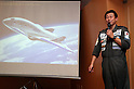December 1, 2016, Tokyo, Japan - Japanese space travel venture PD Aerospace president Syuji Ogawa announces Japanese travel agency H.I.S. and ANA will make capital and business tie-up with PD Aerospace at a press conference in Tokyo on Thursday, December 1, 2016. PD Aerospace is expecting to launch space travel service with other two companies in 2023.  (Photo by Yoshio Tsunoda/AFLO) LWX -ytd-