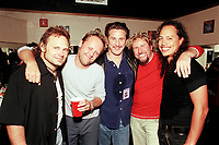 Sammy Hagar with Lars Ulrich, Kirk Hammet, Sean Penn and Michael Anthony <br /> May 7, 2002<br /> **NO GERMANY**<br /> © Jay Blakesberg / MediaPunch
