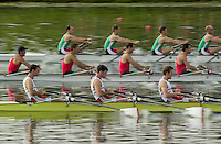 Nottingham, ENGLAND.  <br />  <br />   <br /> Commonwealth Regatta - Nottingham<br /> 20020818