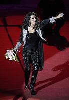 Edith Marquez durante su concierto en el palenque de la Feria de Leon , Guanajuato el 18 de enero del 2013..<br /> (*Foto:TiradorTercero/NortePhoto*)