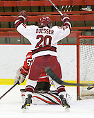 Kate Buesser (Harvard - 20) - The Harvard University Crimson defeated the St. Lawrence University Saints 8-3 (EN) to win their ECAC Quarterfinals on Saturday, February 26, 2011, at Bright Hockey Center in Cambridge, Massachusetts.