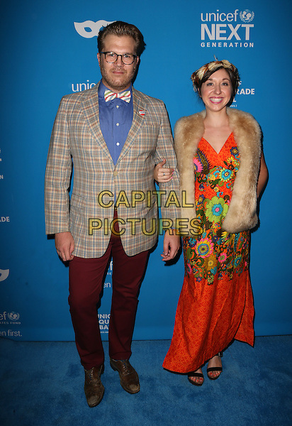 LOS ANGELES, CA - OCTOBER 27: Freddy &amp; Francine at the Fourth Annual UNICEF Masquerade Ball Los Angeles at Clifton's Cafeteria in Los Angeles, California on October 27, 2016. <br /> CAP/MPI/FS<br /> &copy;FS/MPI/Capital Pictures