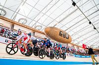 Picture by Alex Whitehead/SWpix.com - 10/12/2017 - Cycling - UCI Track Cycling World Cup Santiago - Velódromo de Peñalolén, Santiago, Chile - Men's Omnium Elimination race.