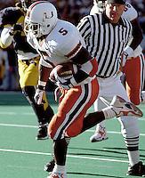 Miami running back Edgerrin James, October 24, 1998.