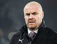 Burnley's Sean Dyche <br /> <br /> Photographer Andrew Kearns/CameraSport<br /> <br /> The Premier League - Burnley v Liverpool - Wednesday 5th December 2018 - Turf Moor - Burnley<br /> <br /> World Copyright &copy; 2018 CameraSport. All rights reserved. 43 Linden Ave. Countesthorpe. Leicester. England. LE8 5PG - Tel: +44 (0) 116 277 4147 - admin@camerasport.com - www.camerasport.com