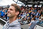 AMSTELVEEN - Bobby de Graag, coach Rotterdam JA1. finale Laren JA1- HC Rotterdam JA1. Laren wint de titel Jongens A . finales A en B jeugd  Nederlands Kampioenschap.  COPYRIGHT KOEN SUYK