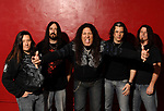 Testament Studio Session