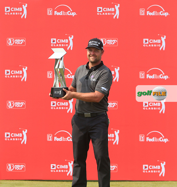 Ryan Moore (USA) winner of the CIMB Classic in the Kuala Lumpur Golf &amp; Country Club on Sunday 2nd November 2014. <br /> Picture:  Thos Caffrey / www.golffile.ie
