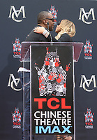 HOLLYWOOD, CA - NOVEMBER 1: Mariah Carey, Lee Daniels, at Mariah Carey Hand And Footprint Ceremony' At The TCL Chinese Theatre in Hollywood, California on November 1, 2017. Credit: Faye Sadou/MediaPunch