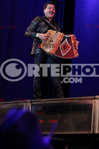 El grupo popular mexicano de musica norte&ntilde;a Los Tigres del Norte se presentaron en el Hipodromo de Hermosillo, Sonora Mexico. <br /> 11 Nov 2012.<br /> (Luis Gutierrez/NortePhoto)