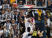 Berkeley, CA - February 11th, 2016:  CAL Men's Basketball's 83-63 victory against Oregon at Haas Pavilion.