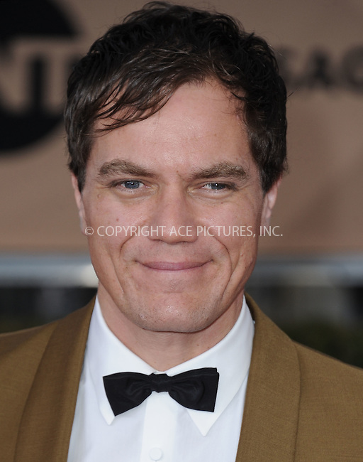 WWW.ACEPIXS.COM<br /> <br /> January 30 2016, LA<br /> <br /> Michael Shannon arriving at the 22nd Annual Screen Actors Guild Awards at the Shrine Auditorium on January 30, 2016 in Los Angeles, California<br /> <br /> By Line: Peter West/ACE Pictures<br /> <br /> <br /> ACE Pictures, Inc.<br /> tel: 646 769 0430<br /> Email: info@acepixs.com<br /> www.acepixs.com