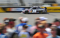 May 2, 2008; Richmond, VA, USA; NASCAR Sprint Cup Series driver David Gilliland during practice for the Dan Lowry 400 at the Richmond International Raceway. Mandatory Credit: Mark J. Rebilas-