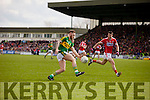 Barry John Keane Kerry in action against Jamie O Sullivan Cork in the National Football league in Austin Stack Park, Tralee on Sunday.