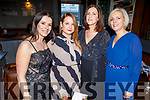 Joanna Kazmierczak, Magdelana Hennessy, Marion O'Connor and Elenor Stack attending the Connect Kerry Women's Christmas in Style lunch in the Ashe Hotel on Sunday.