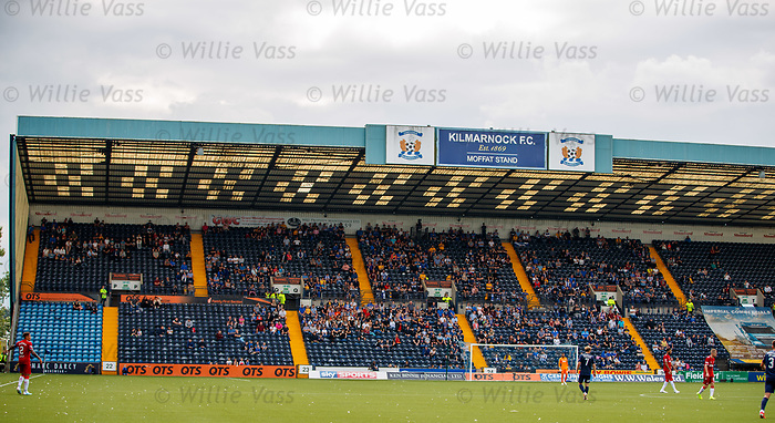 04.08.2019 Kilmarnock v Rangers: the Moffat Stand