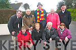 The  residents of Sunhill in Killorglin are calling on Kerry County Council to underworks on the road which has been described as being in a 'deplorable' state. .Front L-R Jennifer Roche, Maisie and Bernard Flynn and Mary Tuohy. ].Back L-R Cllr Michael Cahill, Ray Levy, Fr Micheal Doherty, Hannah and Laurence Coffey.