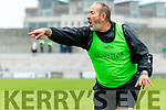 Ballyduff Manager Bobby Thornhill in the County Senior Hurling Final at Austin Stack Park on Sunday.