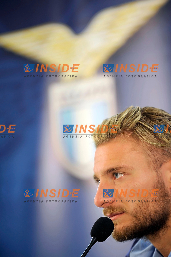 Ciro Immobile<br /> Roma 01-08-2016 Conferenza stampa di presentazione di Ciro immobile.<br /> Press conference to present Ciro Immobile<br /> @ Marco Rosi / Fotonotizia / Insidefoto