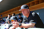 19 February 2017: Kentucky assistant coach Todd Guilliams. The University of North Carolina Tar Heels hosted the University of Kentucky Wildcats in a College baseball game at Boshamer Stadium in Chapel Hill, North Carolina. UNC won the game 5-4.