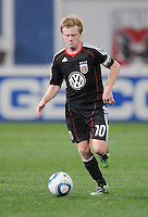 DC United midfielder Dax McCarty (10)   DC United defeated The Columbus Crew 3-1  at the home season opener, at RFK Stadium, Saturday March 19, 2011.