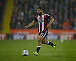 Cameron Carter-Vickers of Sheffield Utd during the Championship match at the Bramall Lane Stadium, Sheffield. Picture date 27th September 2017. Picture credit should read: Simon Bellis/Sportimage