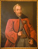 Europe/Pologne/Zamosc: au Musée de la Ville portrait de Jan Zamoyski