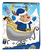 Dreams, CHRISTMAS SANTA, SNOWMAN, WEIHNACHTSMÄNNER, SCHNEEMÄNNER, PAPÁ NOEL, MUÑECOS DE NIEVE, paintings+++++,MEDAGBX44/1,#X#