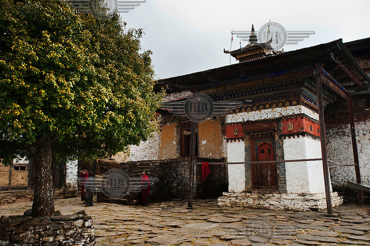 Phajoding Monastery.