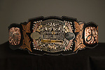 Image of the Bullfighters Only American Champion belt during the RFD-TV's The American - Presented by Polaris Ranger. Photo by Christopher Thompson