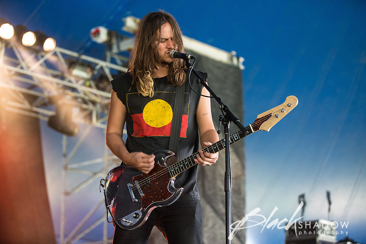 Jeff The Brotherhood performing at The Big Day Out, Melbourne, Flemington Racecourse, 26 January 2013
