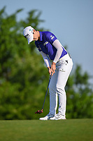 Sung Hyun Park (KOR) watches her putt on 7 during round 1 of  the Volunteers of America LPGA Texas Classic, at the Old American Golf Club in The Colony, Texas, USA. 5/5/2018.<br /> Picture: Golffile | Ken Murray<br /> <br /> <br /> All photo usage must carry mandatory copyright credit (&copy; Golffile | Ken Murray)