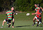 Rugby League: Richmond Rabbits v Stoke Cobras Stoke, Nelson, New Zealand, Saturday 17 May 2014, Photo: Evan Barnes/ www.shuttersport.co.nz